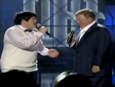 William Shatner Duets With that Taiwanese Internet Singing Kid: Set Phasers to Awesome! (VIDEO)