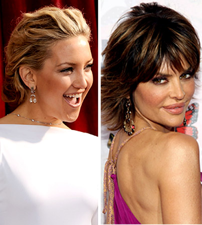 Lisa Rinna Mega-Pouts Her Approval of Kate Hudson's New Breasts