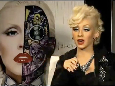 Christina Aguilera Will Not Stand For People Coughing While She Is Speaking (VIDEO)