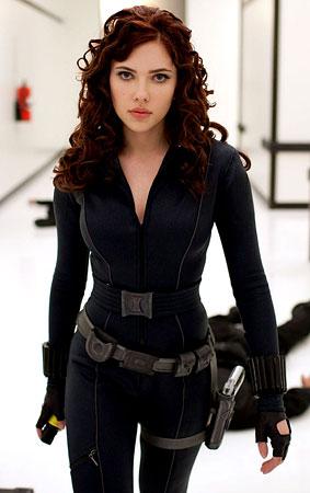 Scarlett Johansson in 'Iron Man 2′ (PHOTOS)