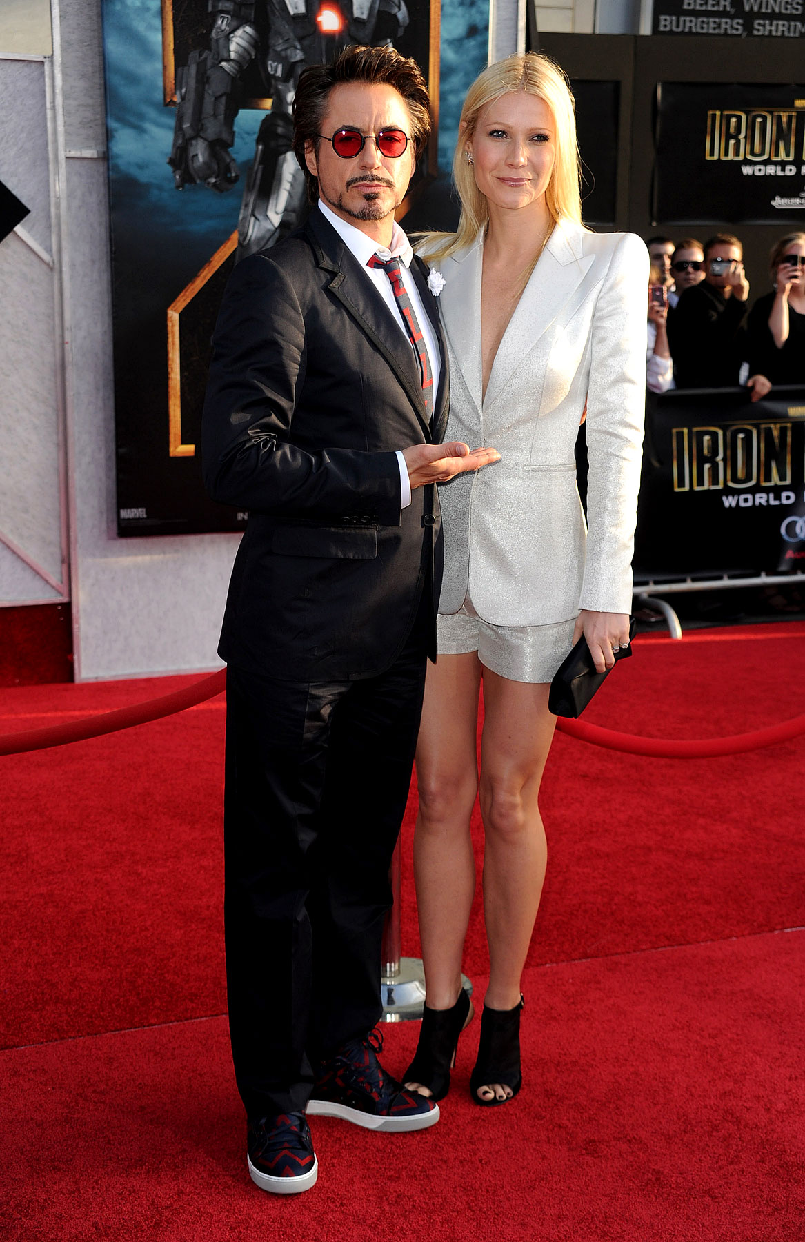 Gwyneth Paltrow Keeps It Business On Top, Party On Bottom For 'Iron Man 2′ Premiere (PHOTOS)