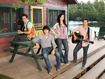 The Jonas Brothers and Demi Lovato Enchant and Delight With Their New 'Camp Rock 2′ Promo Photo