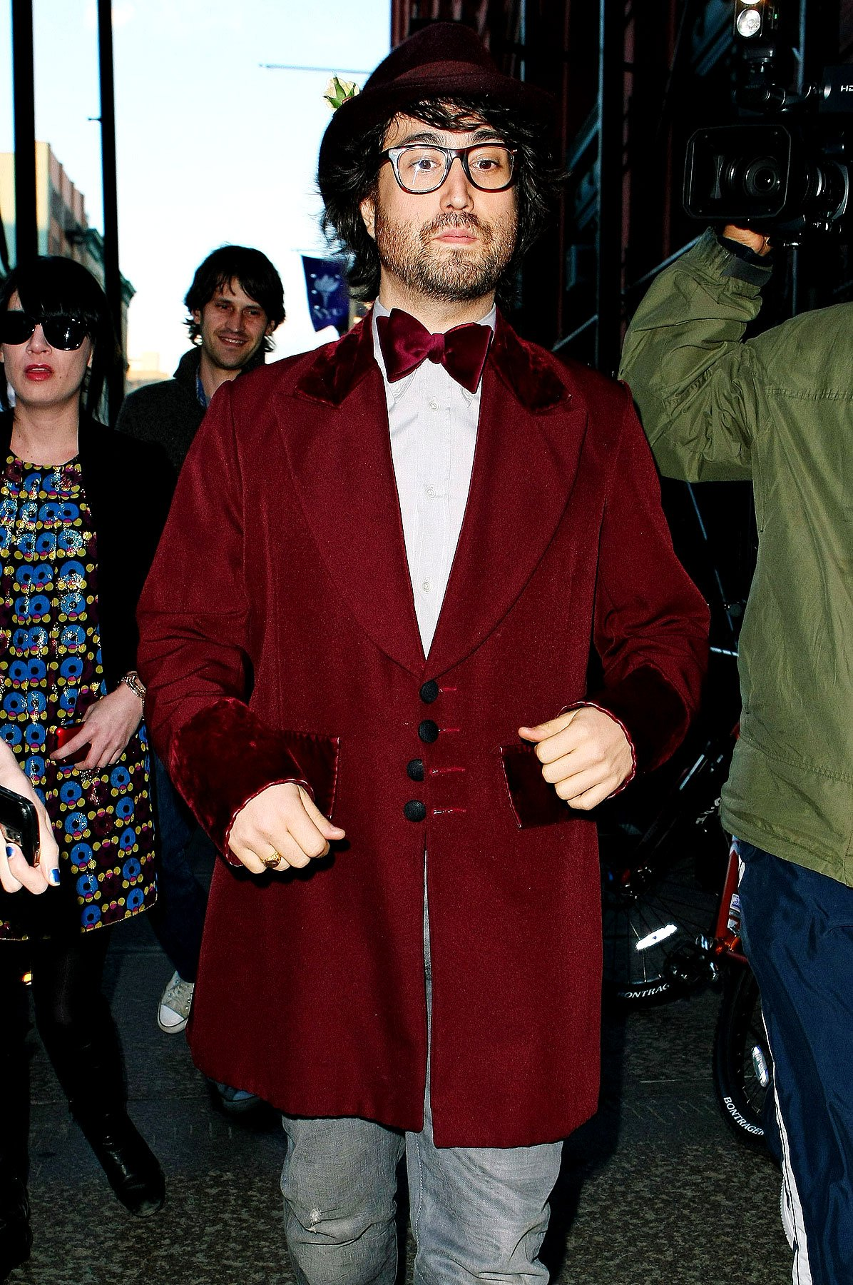 Fashion FAIL: Sean Lennon, Will The Real Willy Wonka Please Stand Up (PHOTOS)