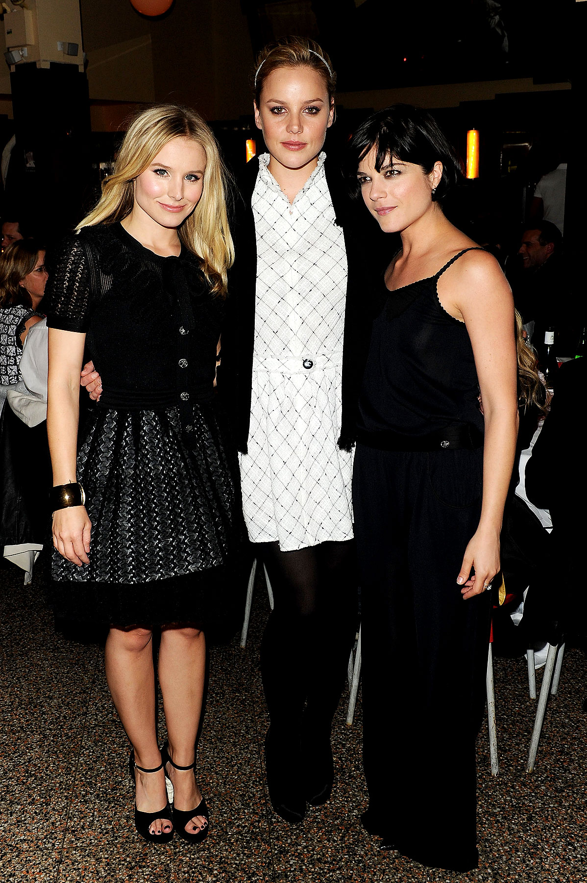 Fashion FTW: Kristen Bell & Abbie Cornish Represent Chanel (PHOTOS)
