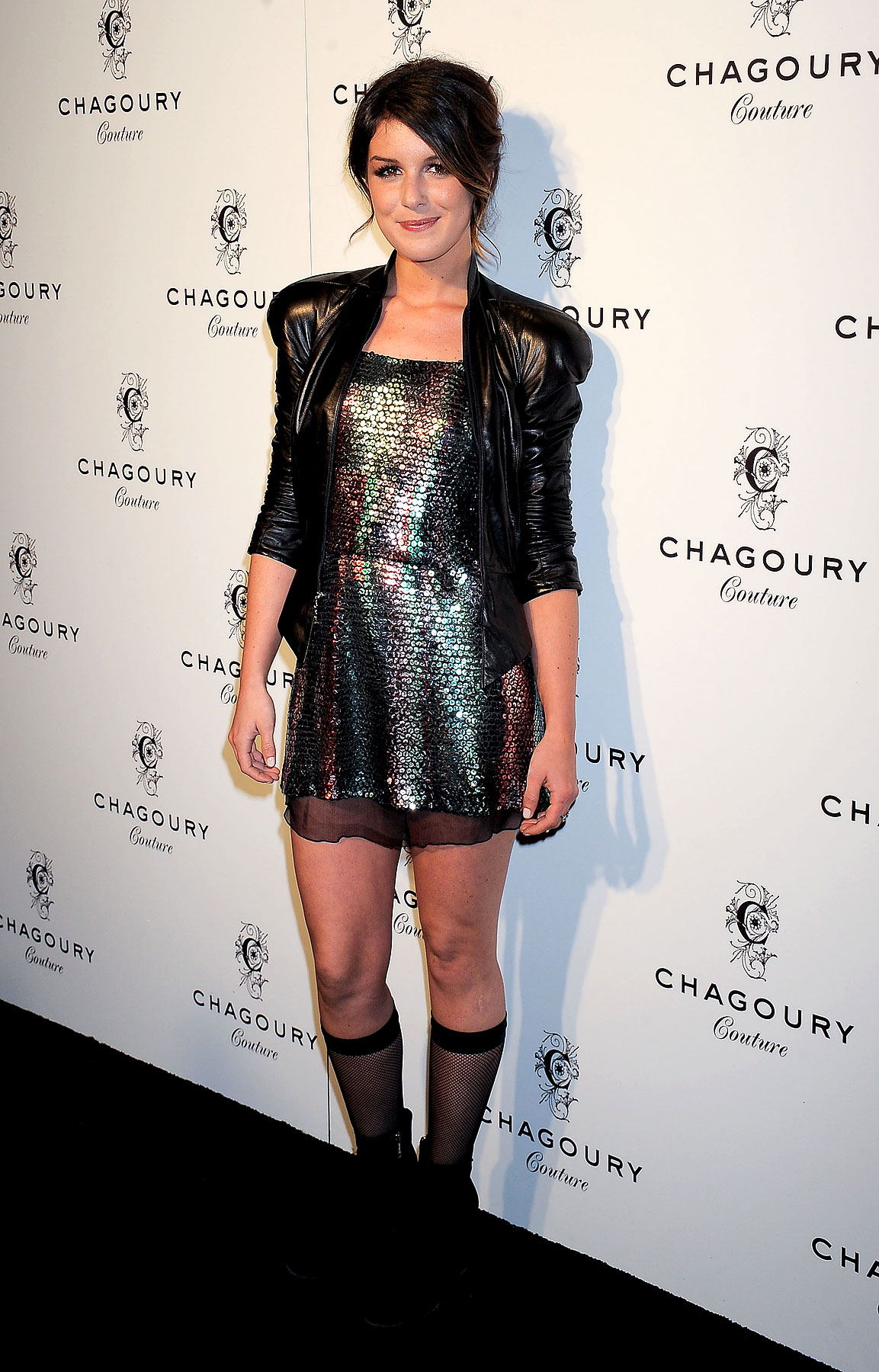 Fashion FAIL: Shenae Grimes Wears Fishnet Support Hose (PHOTOS)
