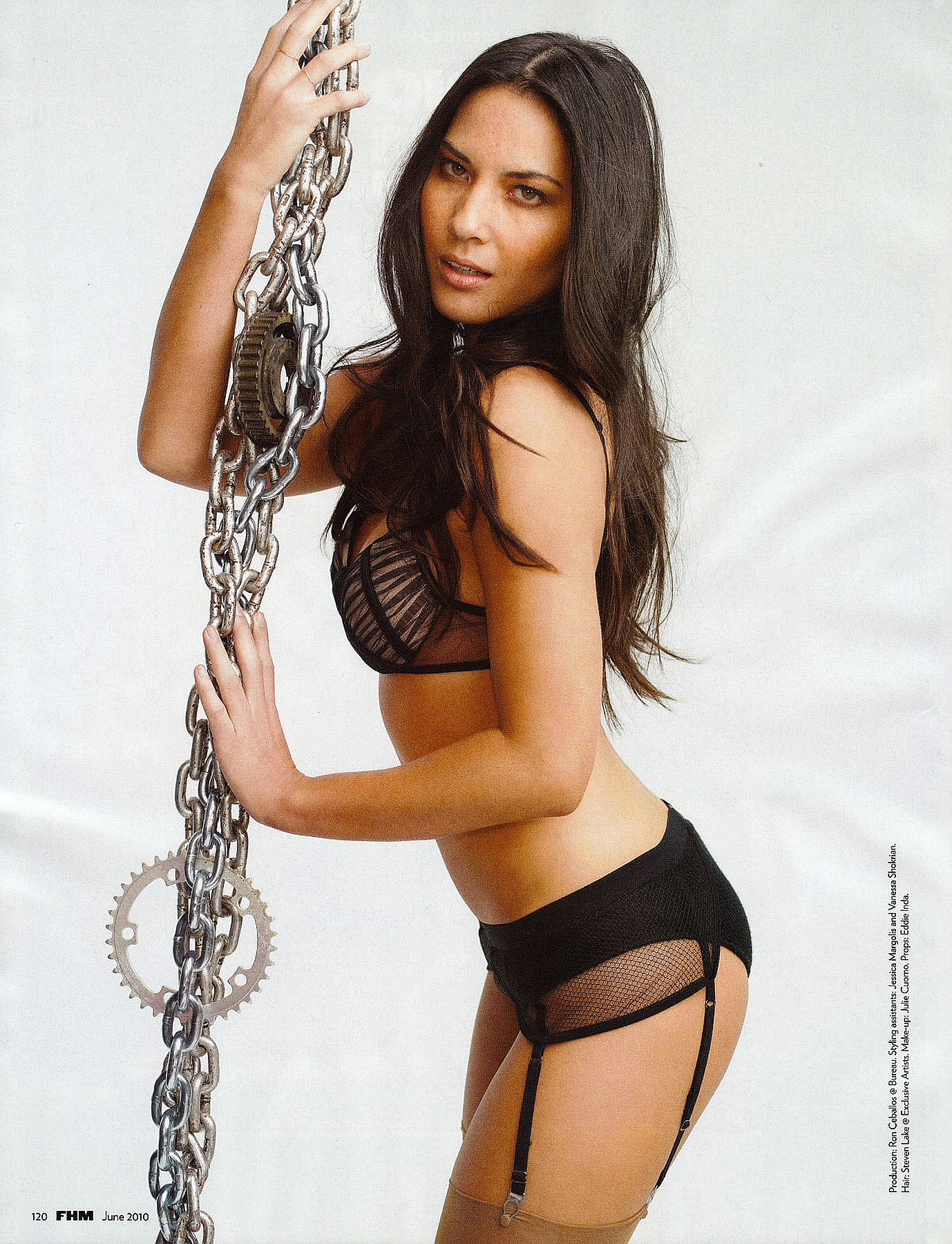 Olivia Munn Wraps Us In Chains Of Love For Sexy 'FHM' Shoot (PHOTOS)