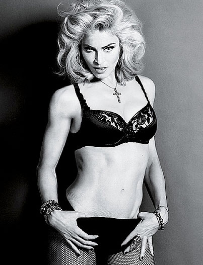 Madonna Wants to Give the Pope a Heart Attack With New 'Interview' Spread (PHOTOS)
