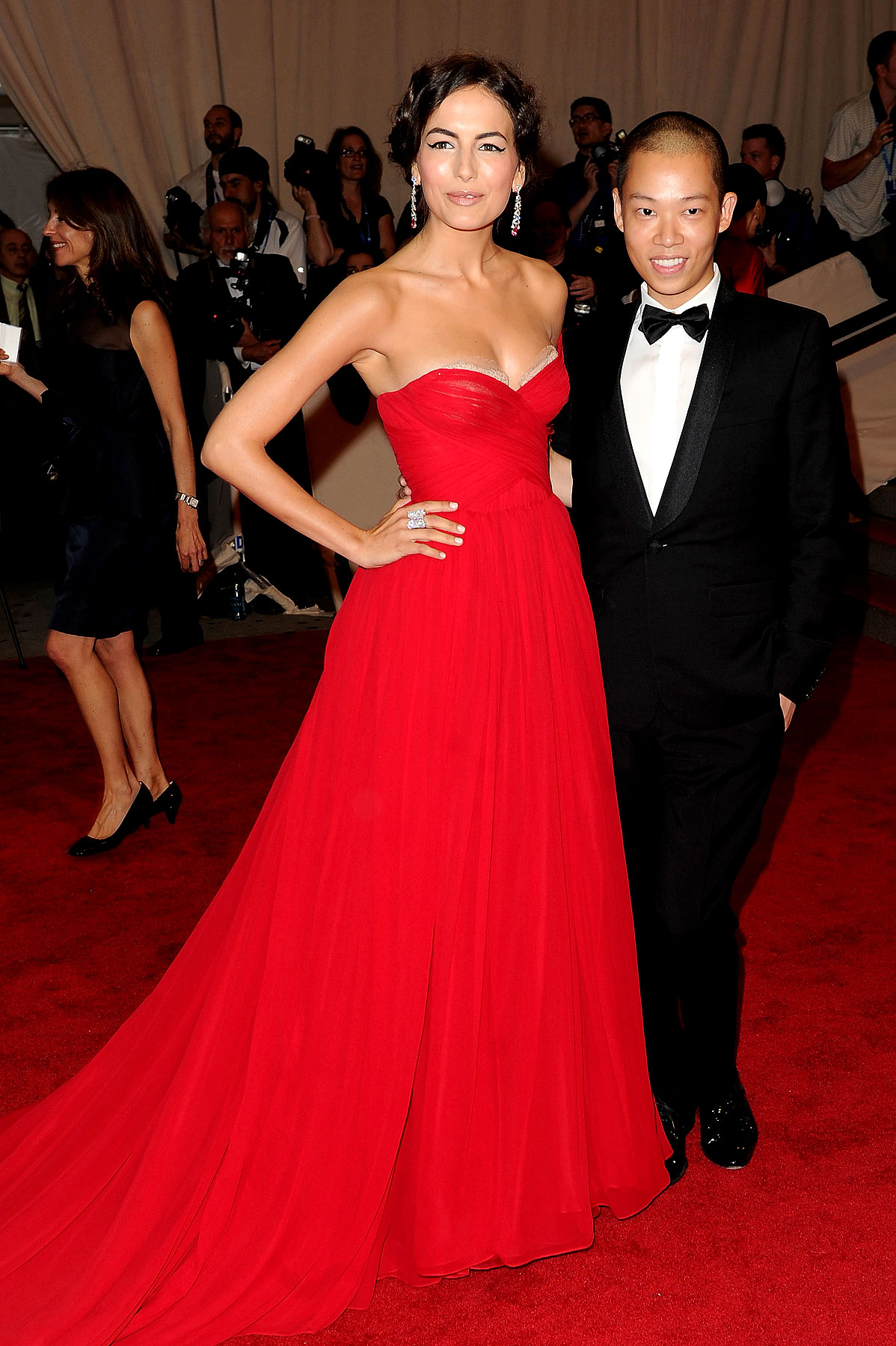 Designers Flex Their Fashion Muscles At The Met Gala (PHOTOS)
