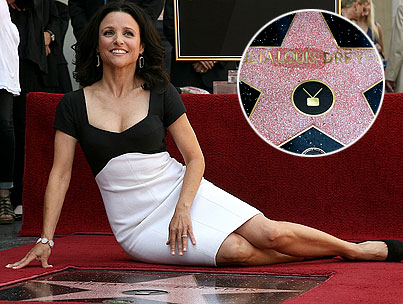 "BUZZINGS: Julia Louis-Dreyfus And ""Julia Luis Dreyfus"" Get Star On Hollywood Walk Of Fame"
