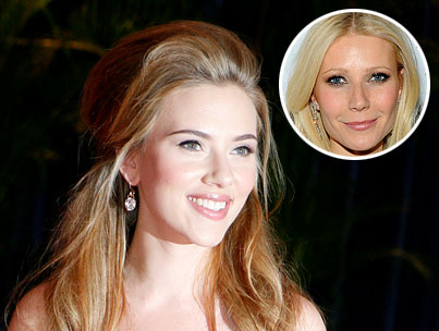 Scarlett Johansson Falls Under The Spell Of Gwyneth Paltrow And Her Amazing Advice