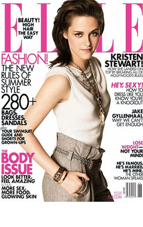 Kristen Stewart Goes to 'Elle,' Admits Own Awkwardness (PHOTOS)