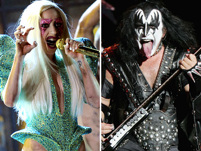 Gene Simmons Wants to Ride Lady GaGa's Weird Bedazzled Coattails