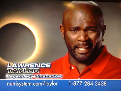 Nutrisystem Drops Lawrence Taylor Following Rape Charges