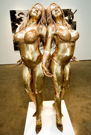 Pam Anderson Enshrined in Bronze, the Way God Intended (PHOTO)