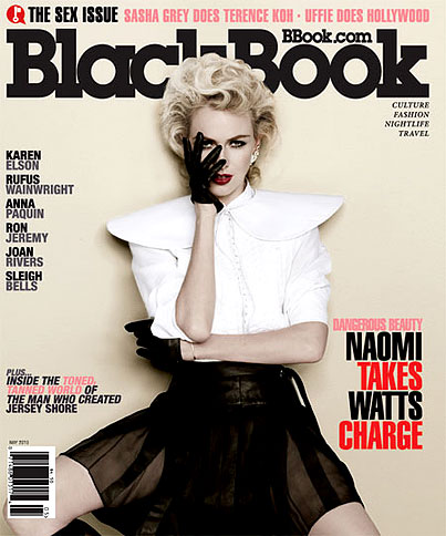 Naomi Watts Gets MILF-y For 'Blackbook' (PHOTOS)