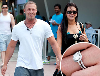 BUZZINGS: JWoWW Gets Engaged, Plans A Fist-Pumping Wedding For The Ages