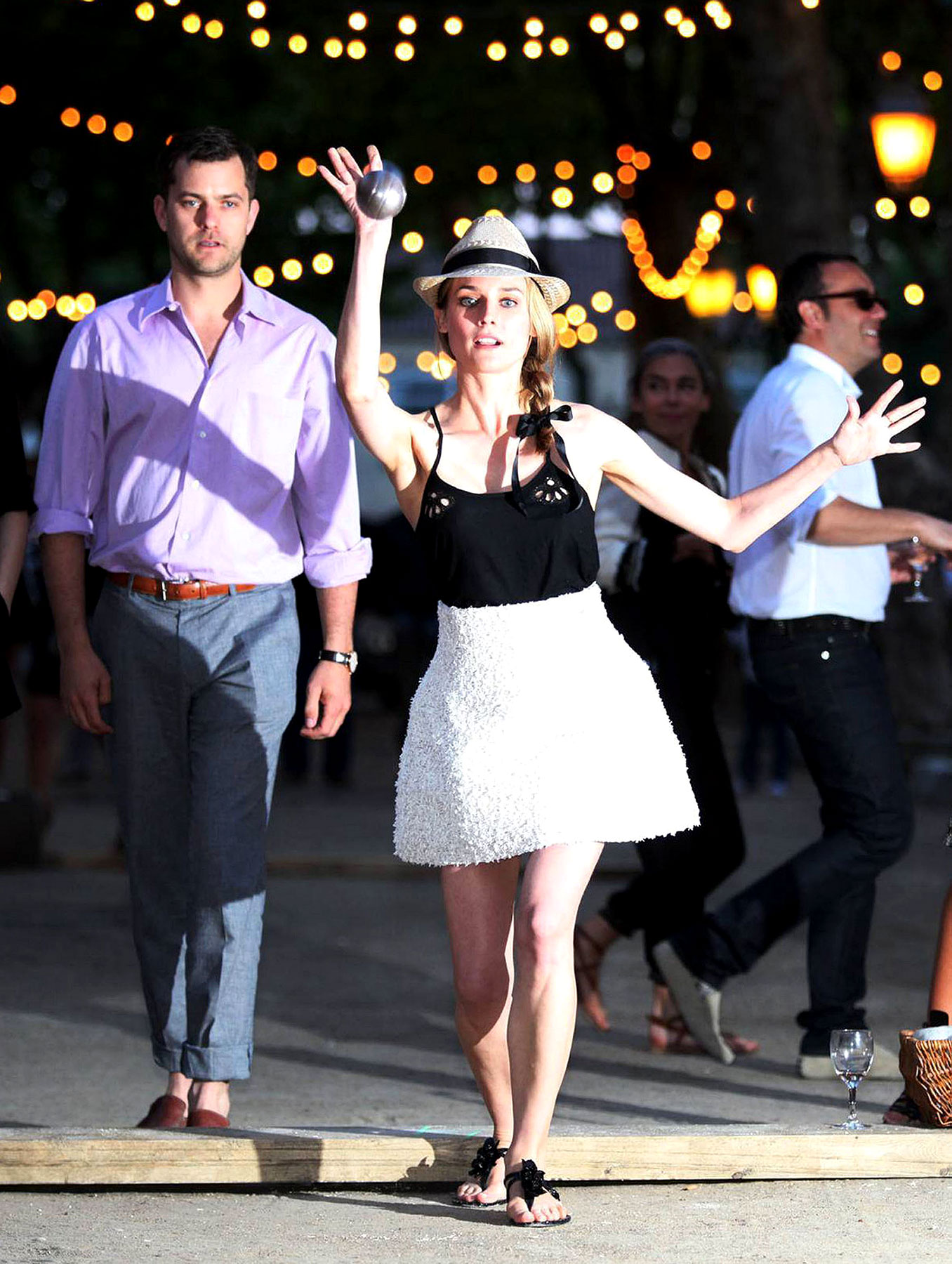 Diane Kruger Isn't Afraid To Bust Some Boules (PHOTOS)
