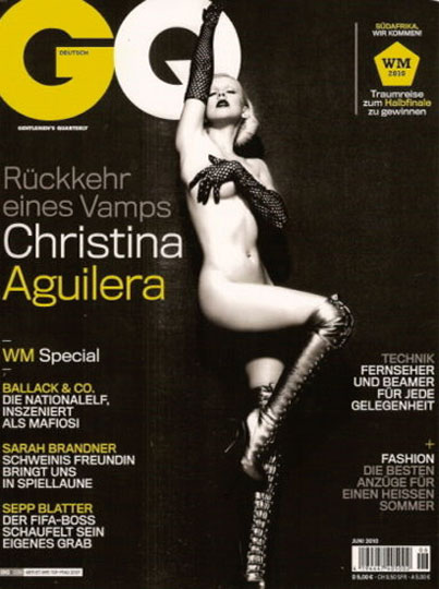 Christina Aguilera Poses Nude on German GQ (PHOTO)