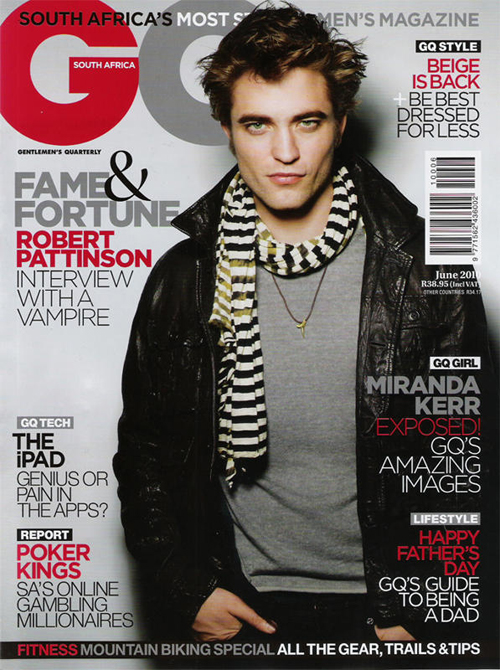 Robert Pattinson Seduces Us In GQ South Africa (PHOTOS)