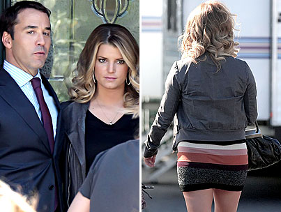 Jeremy Piven Is Nuts for Jessica Simpson's Butt
