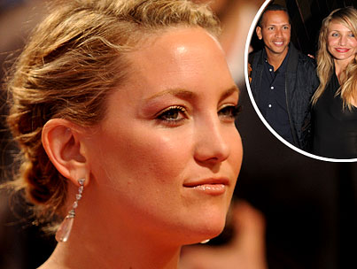 Kate Hudson Allegedly Furious at Cameron Diaz For Dating Alex Rodriguez