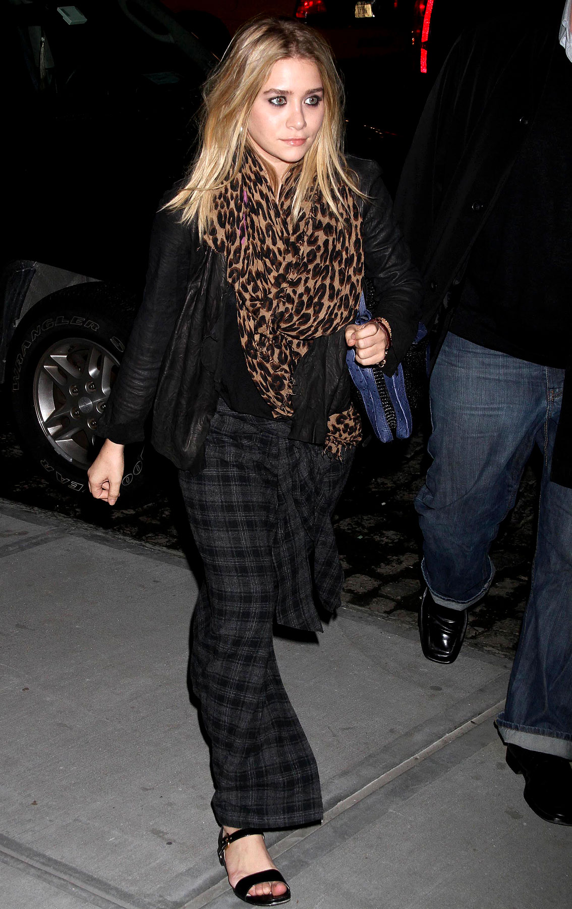 Ashley Olsen Wears A Refurbished Kilt (PHOTOS)