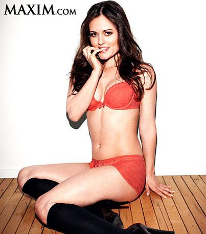 Danica McKellar Ditches Winnie Cooper, Gets Sexy For 'Maxim'