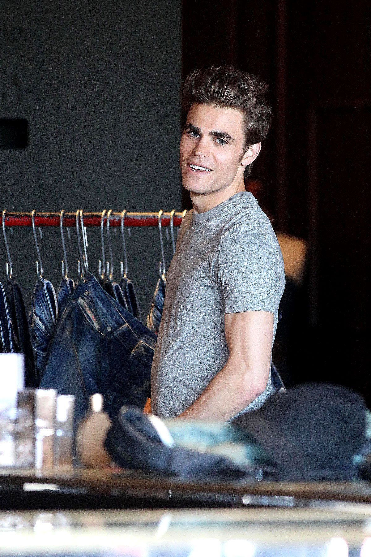 Paul Wesley Is Diesel-Powered (PHOTOS)