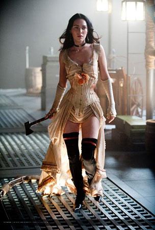 Megan Fox Has an Ax to Grind in New 'Jonah Hex' Stills