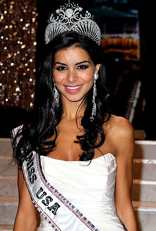 BUZZINGS: Rima Fakih Crowned Miss USA, Becomes First Arab-American Winner
