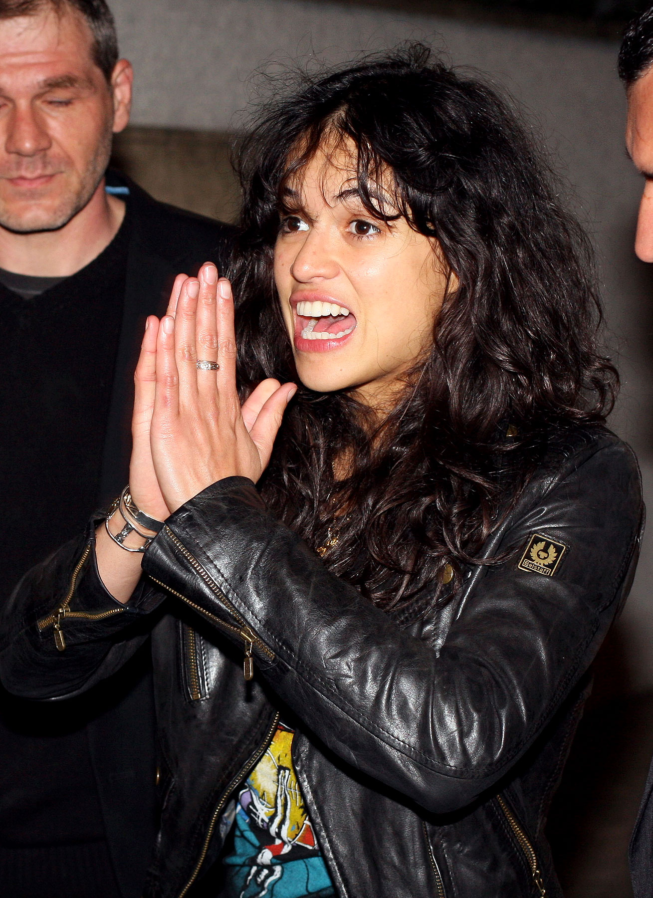 Michelle Rodriguez Hits the Bottle in Cannes? (PHOTOS)