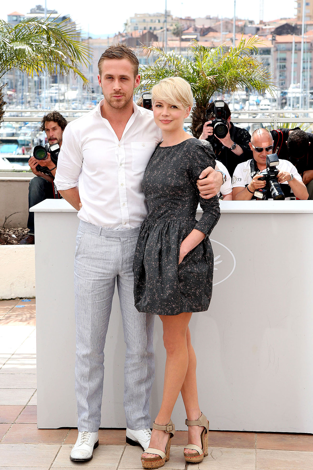Ryan Gosling & Michelle Williams in Cannes-photo