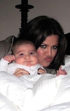 Khloe Kardashian Cuddles Nephew Mason (PHOTOS)
