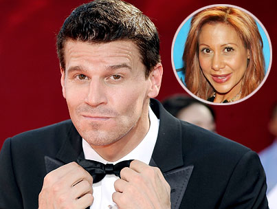 David Boreanaz Also Playing on Tiger's 'Porn Star Hookup' Tour?