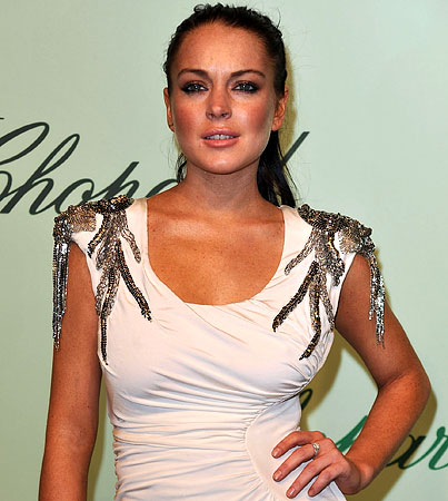 Lindsay Lohan Finally Gets Serious About Leaving Cannes