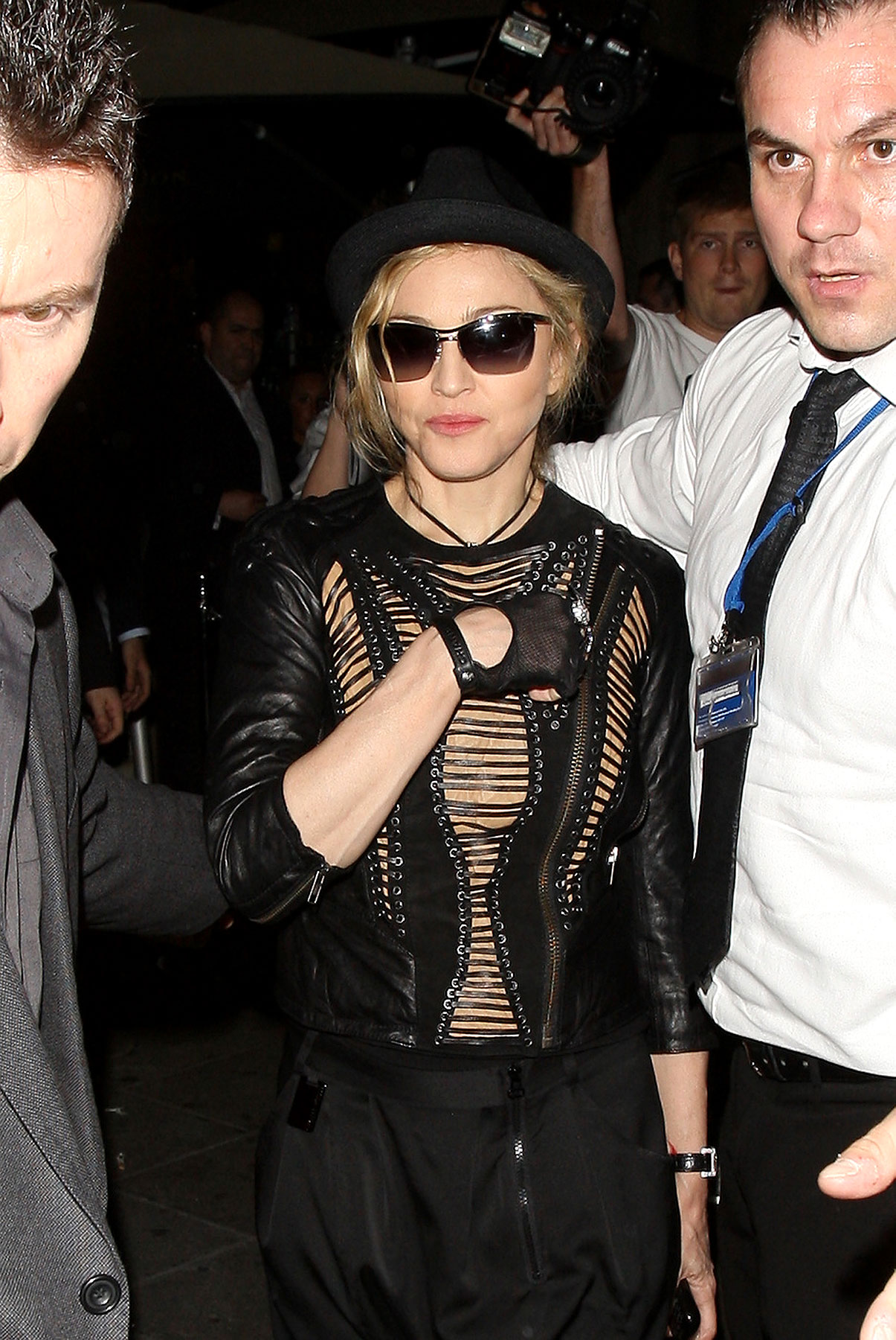 Fashion FAIL: Madonna In Laces And Leather (PHOTOS)