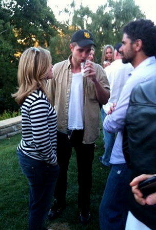 Robert Pattinson Attends Bob Saget's Birthday Party in Today's WTF Celeb Hookup