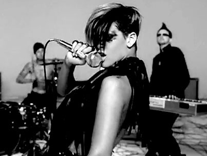 Rihanna Rocks Her Clothes Off In New Video For 'Rockstar 101′ (VIDEO)
