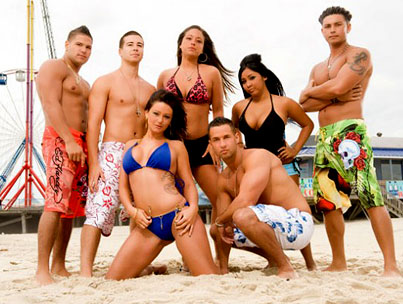 'Jeresey Shore' Cast Gets Their Own Personal Police Squad