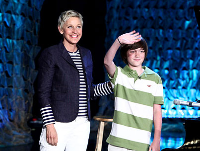 Ellen DeGeneres Starts Record Label With Kid That Sang 'Paparazzi' On The Internet