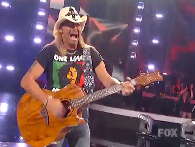 Bret Michaels Laughs in Death's Face to Perform on 'American Idol' Finale (VIDEO)