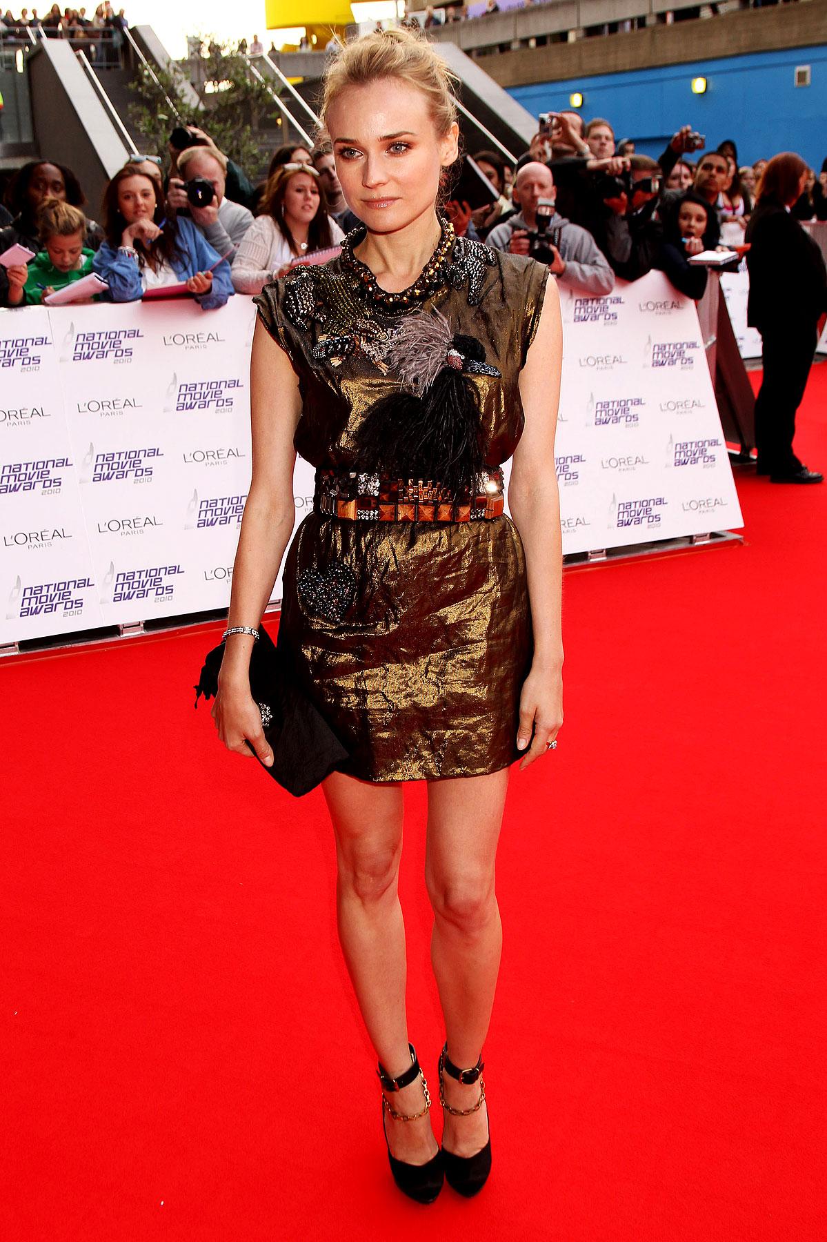 Fashion FTW: Diane Kruger's Dress Flips The Bird (PHOTOS)