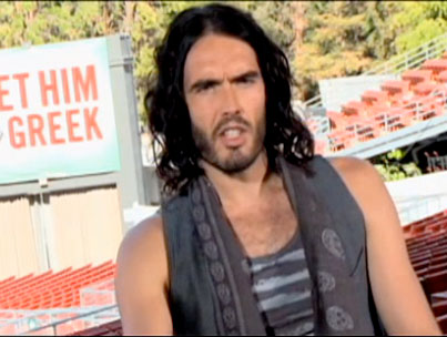 Russell Brand Gives a Tutorial on Debauchery 101 (VIDEO)