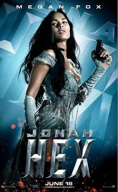 Let Megan Fox Perk Up Your Day in These New 'Jonah Hex' Posters (PHOTOS)