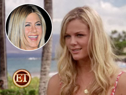 Brooklyn Decker Admits Girl Crush On Jennifer Aniston (VIDEO)