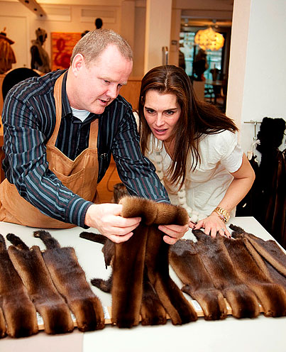 Brooke Shields Basically Spits in PETA's Face