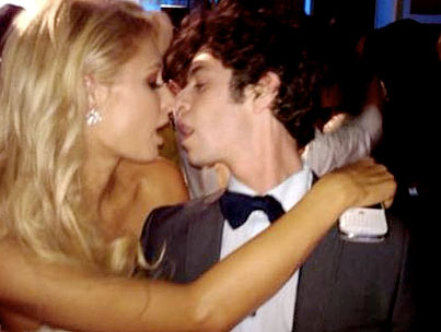 Paris Hilton Makes Out With 'Hard Times Of RJ Berger' Star