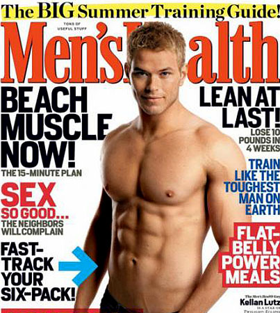 Kellan Lutz and His Abs of Wonder Grace 'Men's Health'