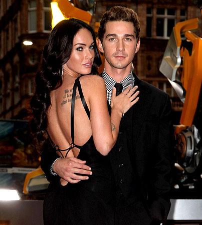 Shia LaBeouf Is Totally Missing Megan Fox on 'Transformers 3′ Set