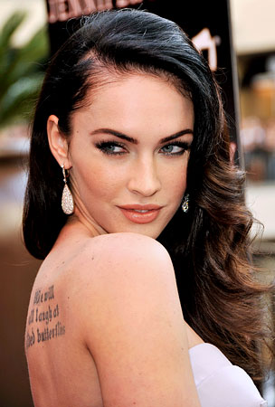 Megan Fox Shows Love For Mickey Rourke With Tattoo